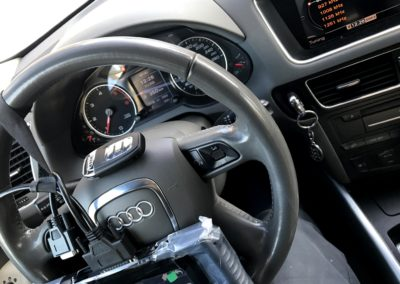 autó kulcs prog. q5